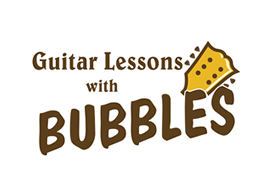 Guitar Lessons With Bubbles