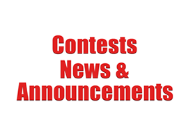 Contests, News & Announcements